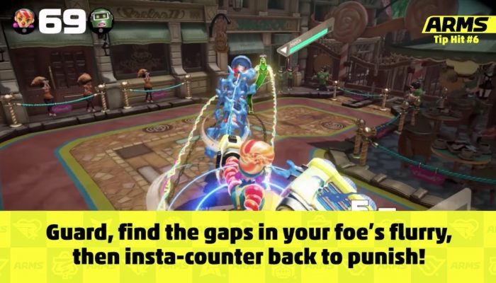 Nintendo UK: 'Improve your Arms game with these quick tips!'