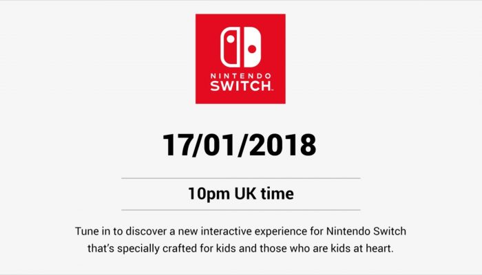 """A new interactive experience for Nintendo Switch that's specially crafted for kids and those who are kids at heart"""