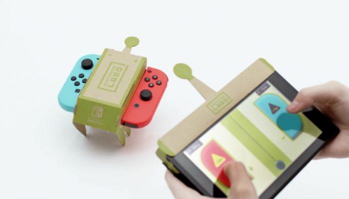 Nintendo Labo(ニンテンドーラボ) 初公開映像