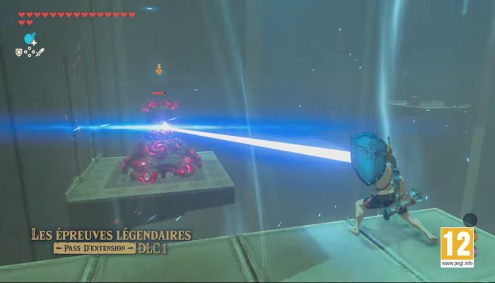 The Legend of Zelda : Breath of the Wild – Bande-annonce du pass d'extension