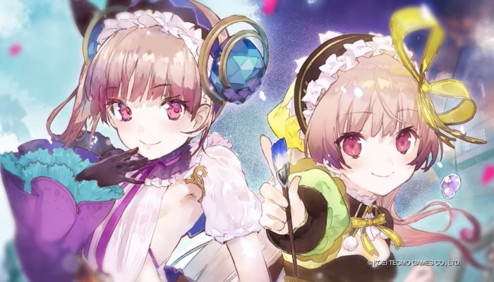 Atelier Lydie & Suelle: The Alchemists and the Mysterious Paintings – Character Feature Trailer