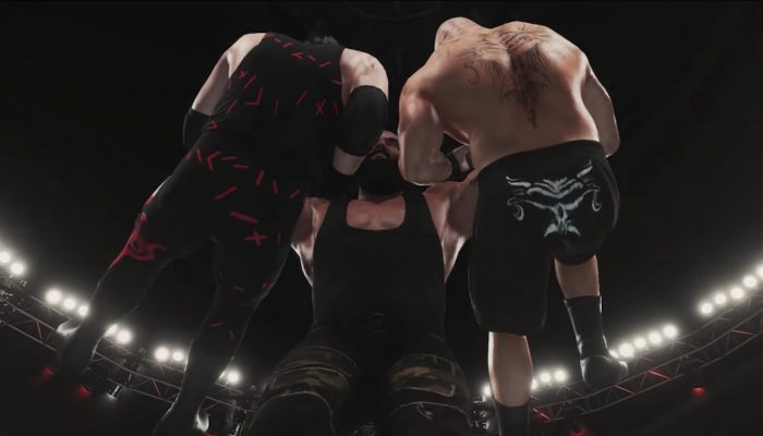 WWE 2K18 – Royal Rumble Triple Threat Simulation