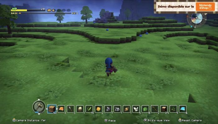 Dragon Quest Builders – Publicité Contruisez votre aventure !