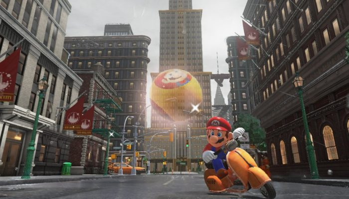 Balloon World mini-game coming to Super Mario Odyssey via free update