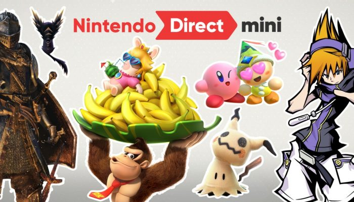 Nintendo France : 'Découvrez les annonces concernant une sélection de titres Nintendo Switch prévus pour 2018 dans un Nintendo Direct Mini !'