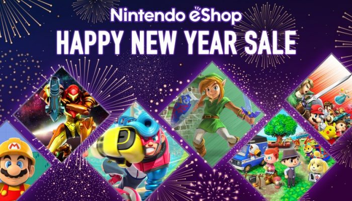 NoE: 'Nintendo eShop sale: Happy New Year Sale [2018]'