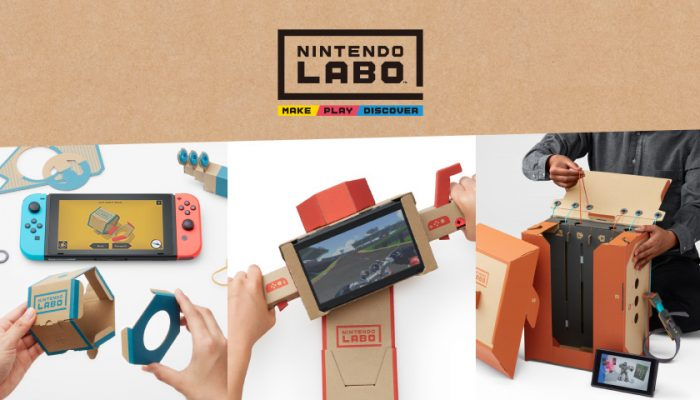 NoA: 'Nintendo Labo combines the magic of Nintendo Switch with the fun of DIY creations'