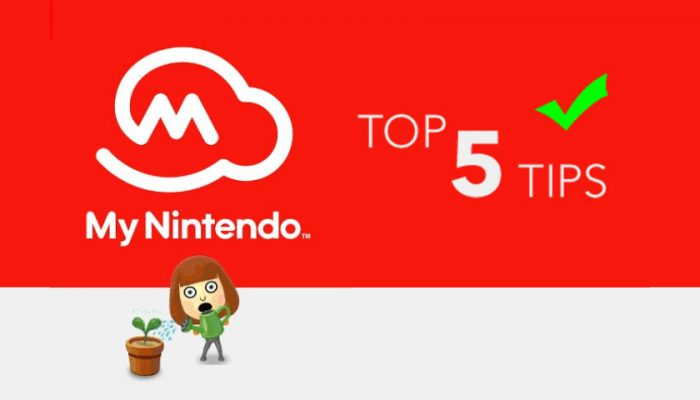 NoA: 'Make the most of My Nintendo with our top five tips!'