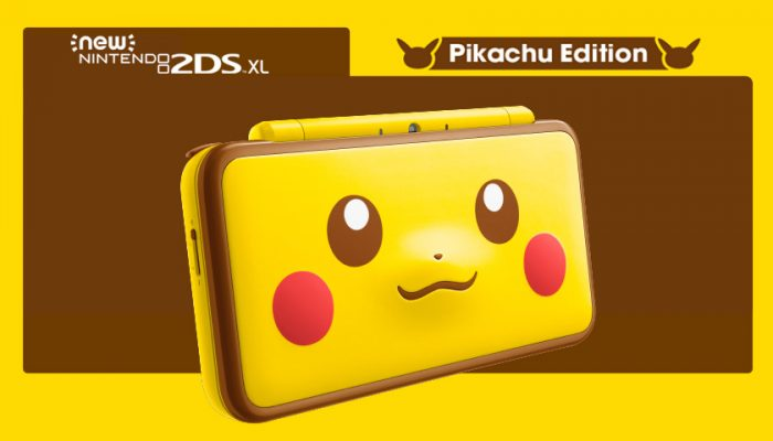NoA: 'New Nintendo 2DS XL Pikachu Edition launches in stores on Jan. 26'