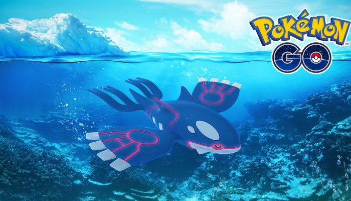 Niantic: 'Kyogre Appearing in Raid Battles around the World!'