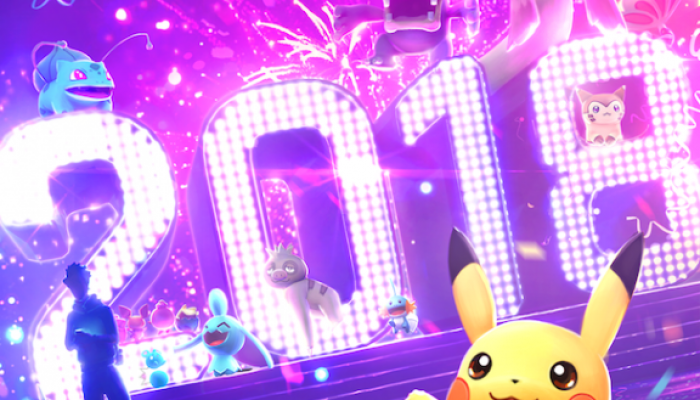 A new-year loading screen for Pokémon Go