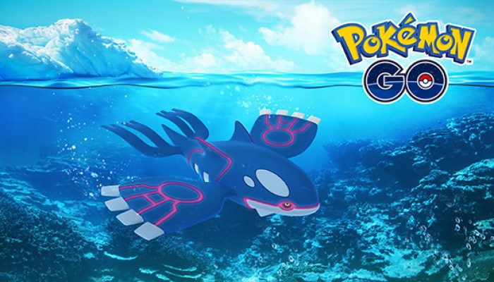 Pokémon: 'Set Sail for Kyogre in Pokémon Go'