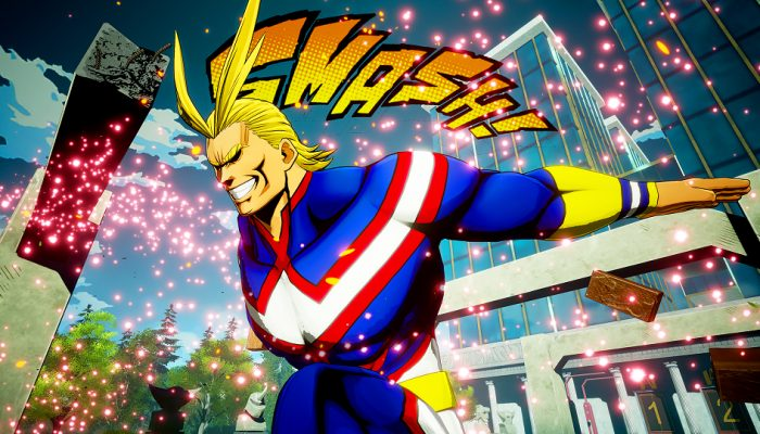 My Hero Game Project – Japanese All Might Reveal Screenshots
