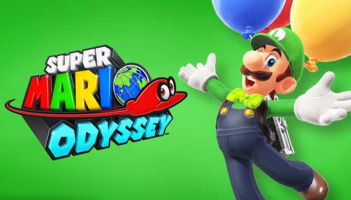 NoA: 'A free update soars to Super Mario Odyssey!'