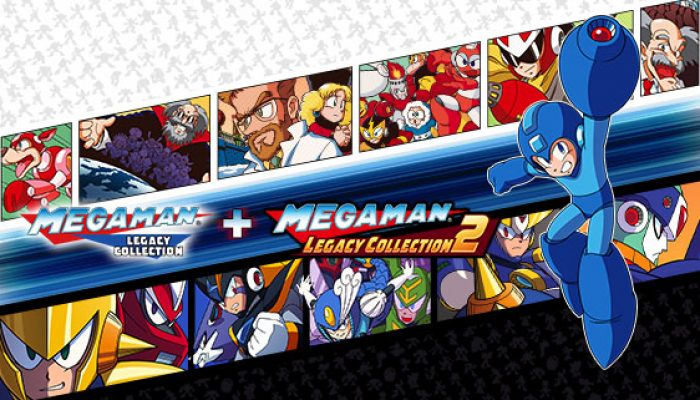 Capcom: 'Mega Man Legacy Collection 1 + 2 slide on to Nintendo Switch on May 22nd!'