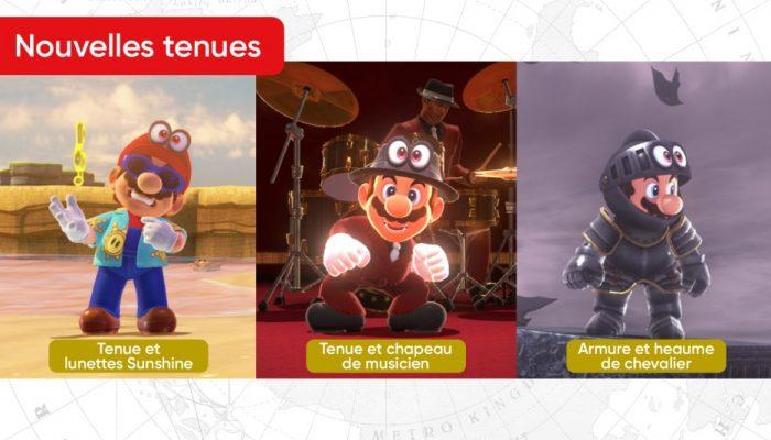Nintendo France : 'Une mise à jour gratuite de Super Mario Odyssey est disponible !'