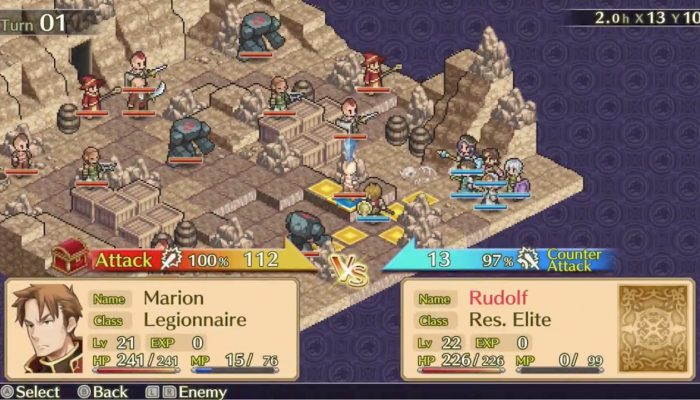 Mercenaries Saga Chronicles coming to Nintendo Switch on February 8