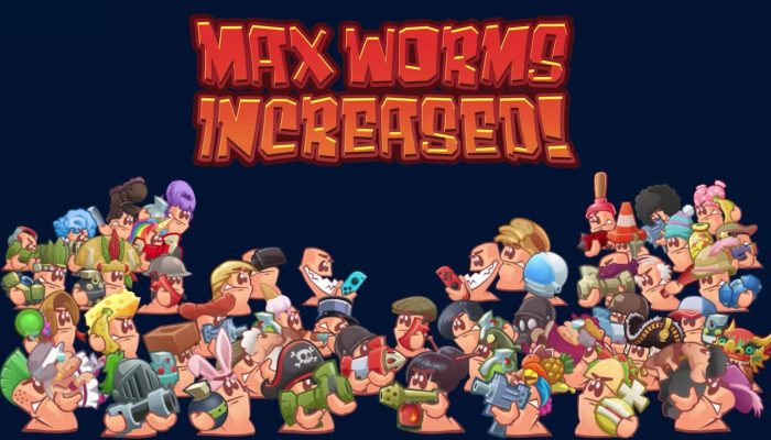 Team17: 'Worms W.M.D: Nintendo Switch Update and Sale!'
