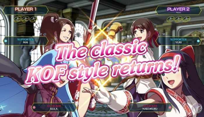 SNK Heroines: Tag Team Frenzy – Alternate Costumes Trailer