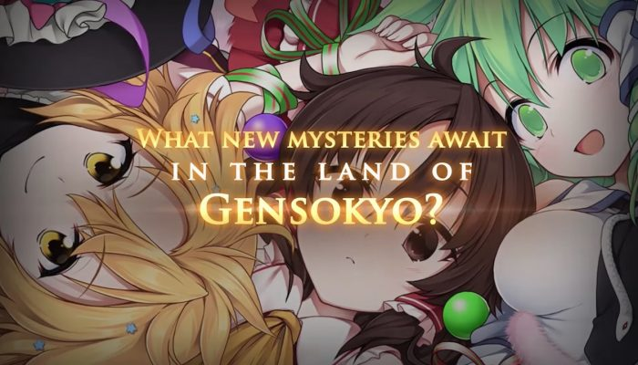 Touhou Genso Wanderer Reloaded – Announcement Trailer