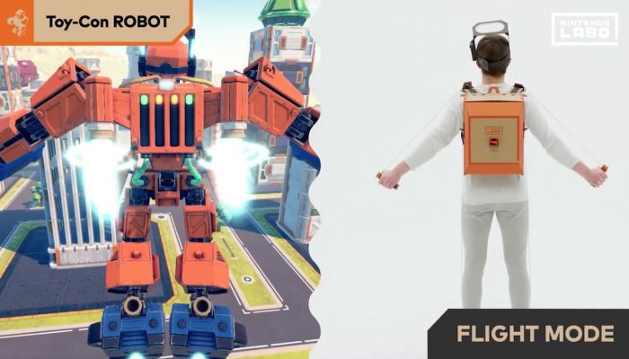 Nintendo Labo – Toy-Con 02: Robot Kit Trailer
