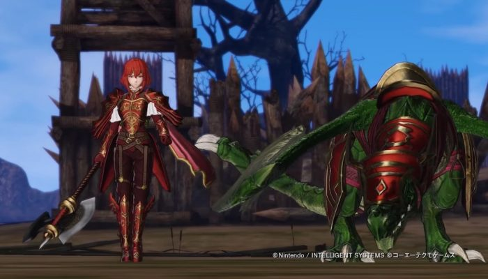 Fire Emblem Warriors – Japanese DLC Pack 2 Minerva Trailer