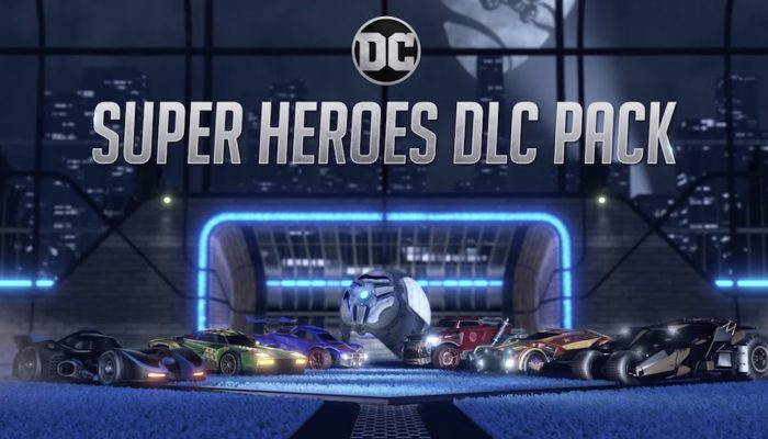 Rocket League – DC Super Heroes DLC Trailer