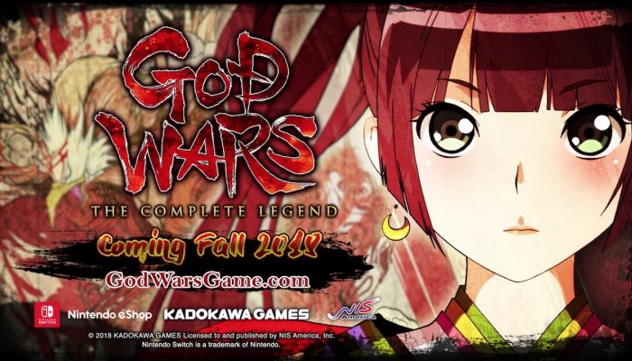 God Wars: The Complete Legend – Announcement Trailer