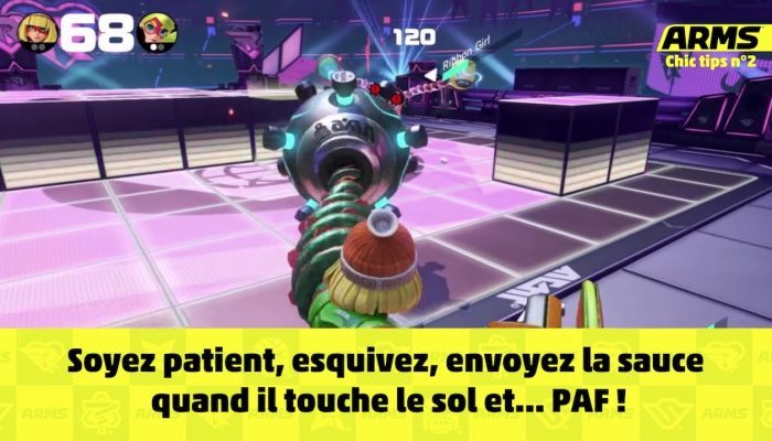 Arms – Chic Tips n°2 : Frapper un adversaire en vol