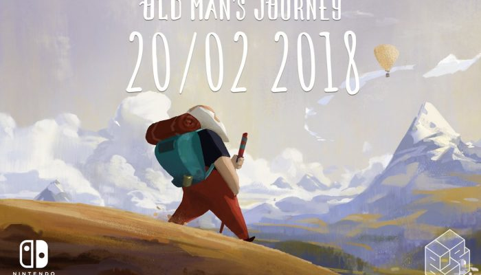 Old Man's Journey arrives February 20 on Nintendo Switch
