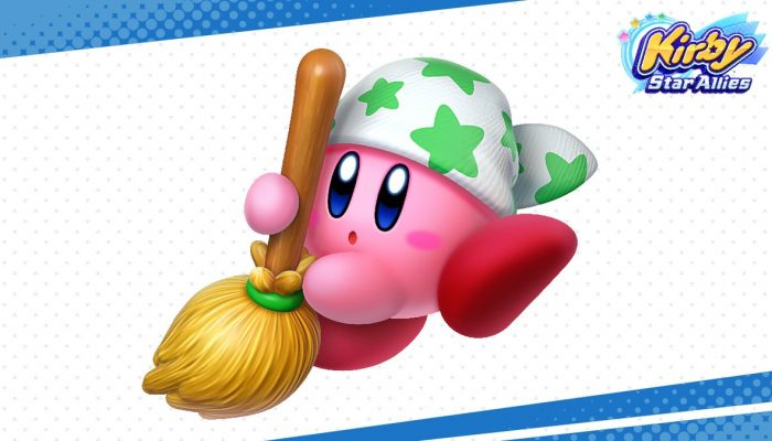Kirby's Cleaning Copy Ability returns in Kirby Star Allies