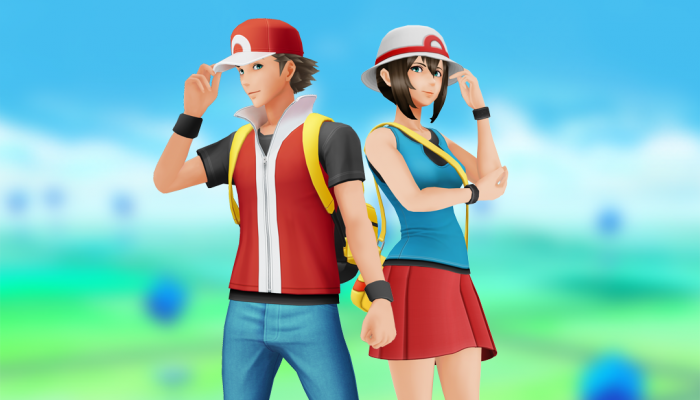 Dress as in Pokémon FireRed and LeafGreen in Pokémon Go