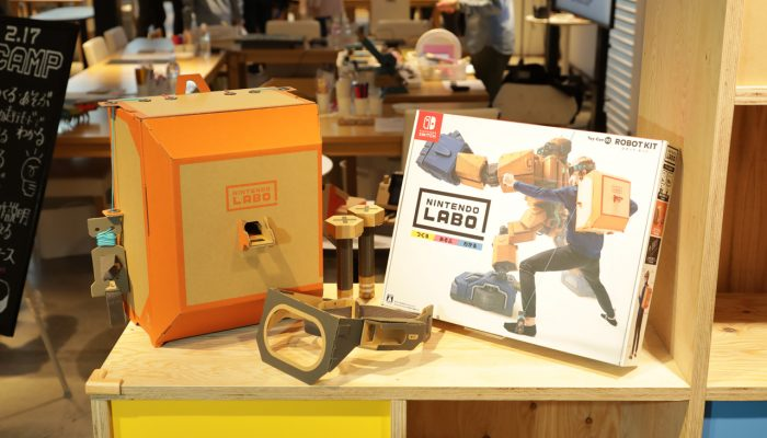 Pictures of the Japanese Nintendo Labo Camp Event