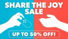 Nintendo eShop Sale Share the Joy Sale