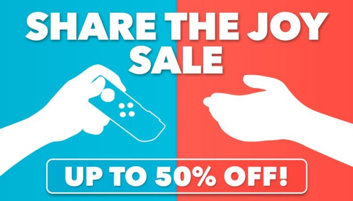 NoE: 'Nintendo eShop Sale: Share the Joy Sale'