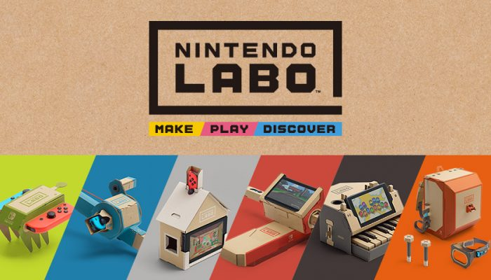 NoA: 'New details and videos released for Nintendo Labo'