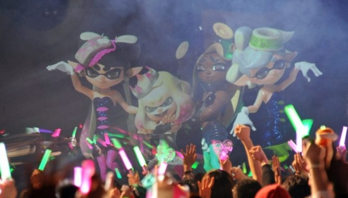 Pictures of the Splatoon 2 Off The Hook Live concert