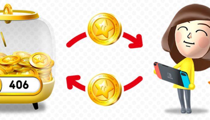 My Nintendo : 'Bientôt sur Nintendo Switch : utilisez vos points or dans le Nintendo eShop'