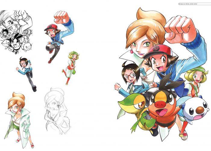 Pokémon Adventures 20th Anniversary Illustration Book
