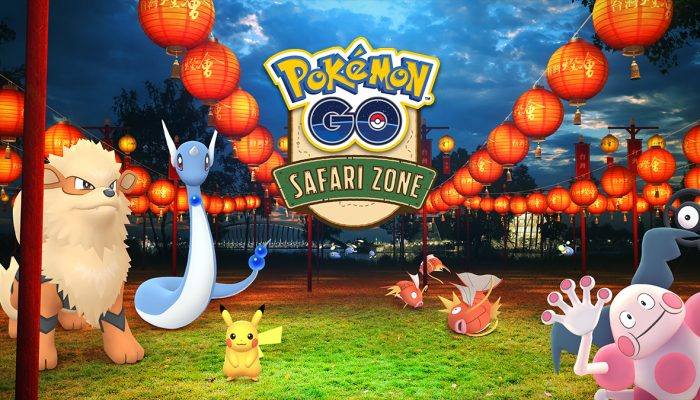 Niantic: 'Honor the New Year with a Safari Zone event at the Chiayi Lantern Festival!'