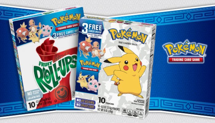 Pokémon: 'Enjoy a Snack and Some Exclusive Pokémon TCG Cards!'