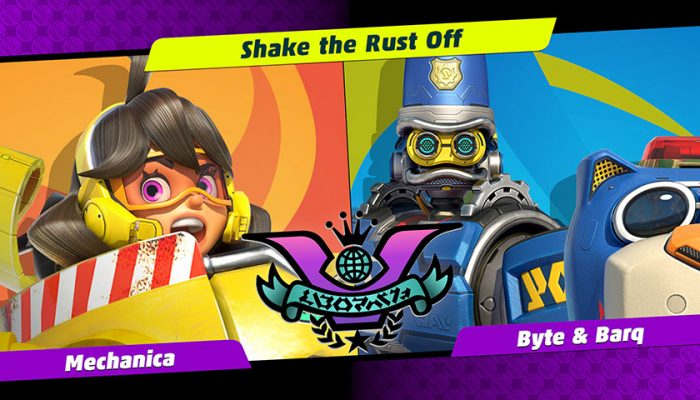 NoA: 'Mechanica takes on Byte & Barq in the next Party Crash!'