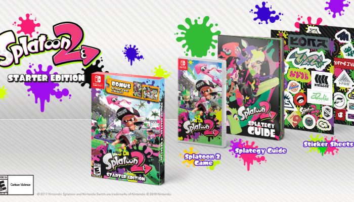 "NoA: 'Splatoon 2 Starter Edition launches March 16; Pearl and Marina ""Off the Hook"" amiibo coming later this year'"