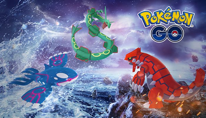 Pokémon: 'Kyogre and Groudon Return to Pokémon Go'