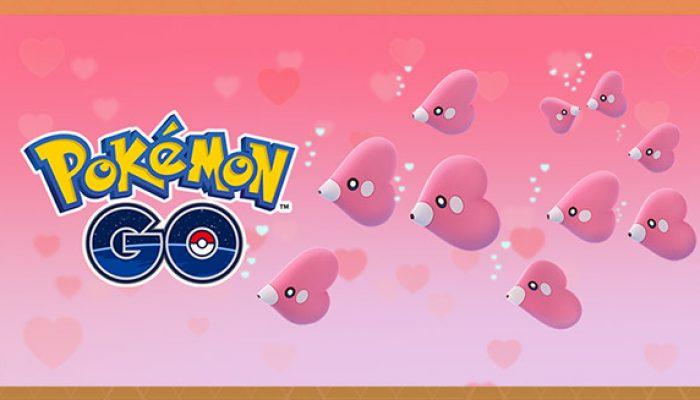 Pokémon : 'Passez une bonne Saint-Valentin avecPokémon Go'