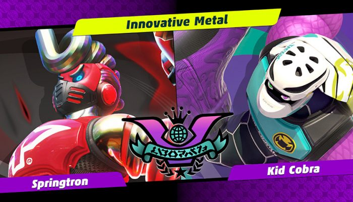 NoA: 'It's Party Crash time as Springtron faces off against Kid Cobra!'