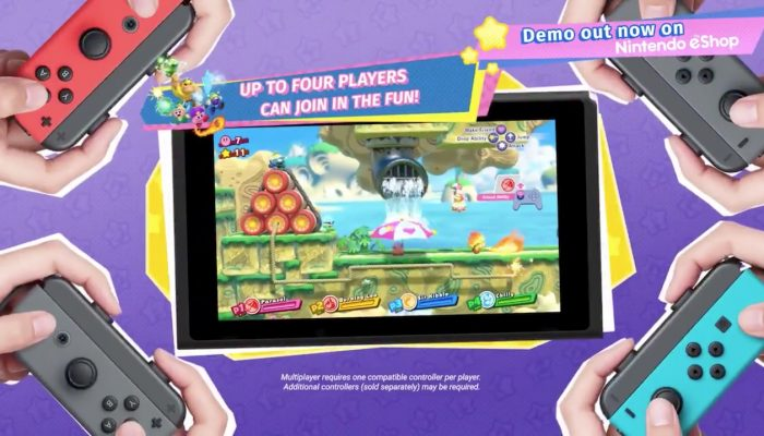 Kirby Star Allies gets a free demo on the Nintendo eShop