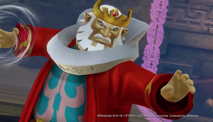 Hyrule Warriors: Definitive Edition – Third Japanese Character Trailer