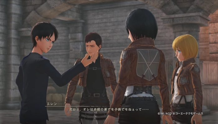Attack on Titan 2 – Japanese Pre-Order Costumes Showcases