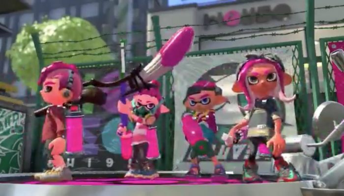 Here's what playable Octolings look like in Splatoon 2